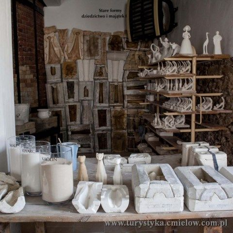 Żywe Muzeum Porcelany - oryginalne formy matki