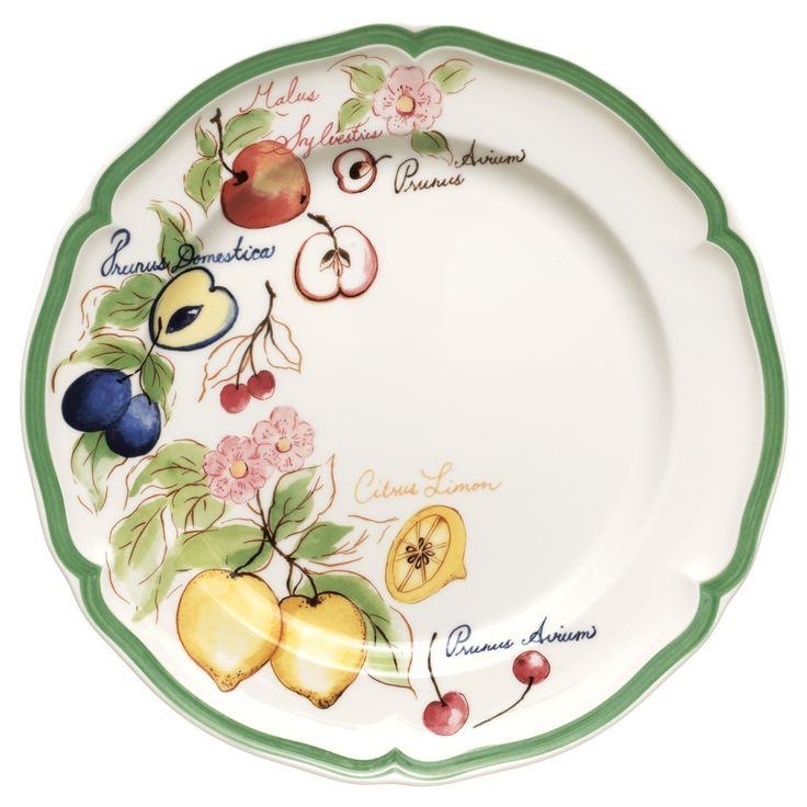 French Garden Arles Dinner Plate 10 1/4 In