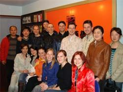 Learn Chinese Language in China.  Graduating class from Germany http://StepIntoChina.com