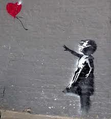 sweet: Banksy Art, Banksy Graffiti, Street Art, Red Balloon, Balloons, Banksy Street, Graffiti Artists, Streetart