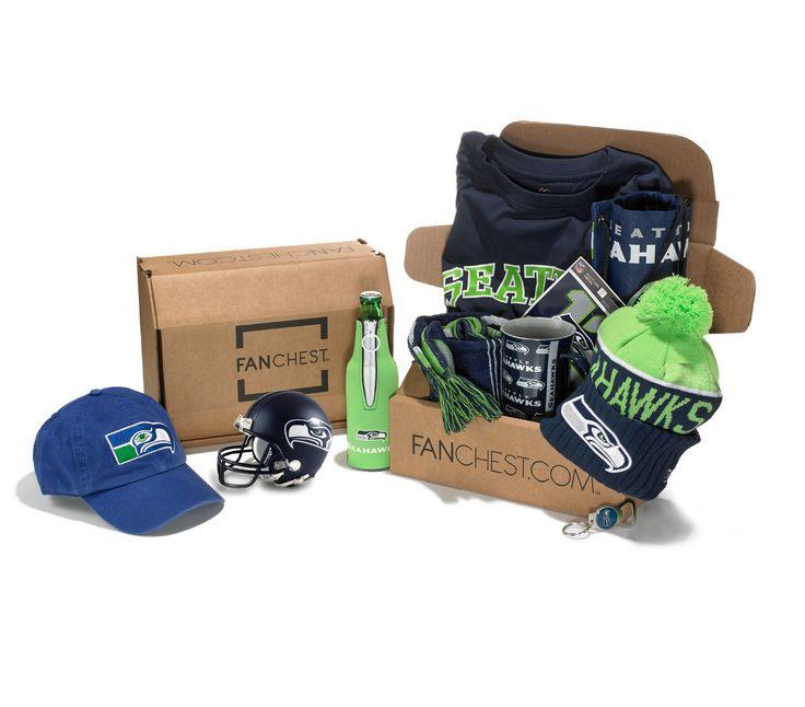 Seattle Seahawks Gift Box | Best Gift for Hawks Fans | Seahawks Gear • FANCHEST
