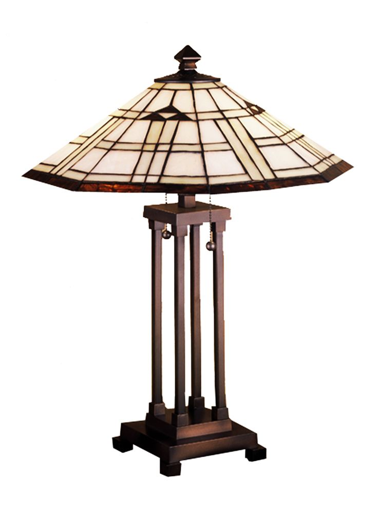 Mission Southwest 24 Inch Arrowhead Mission Table Lamp By Meyda Lighting    50281