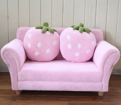 Adorable strawberry couch!