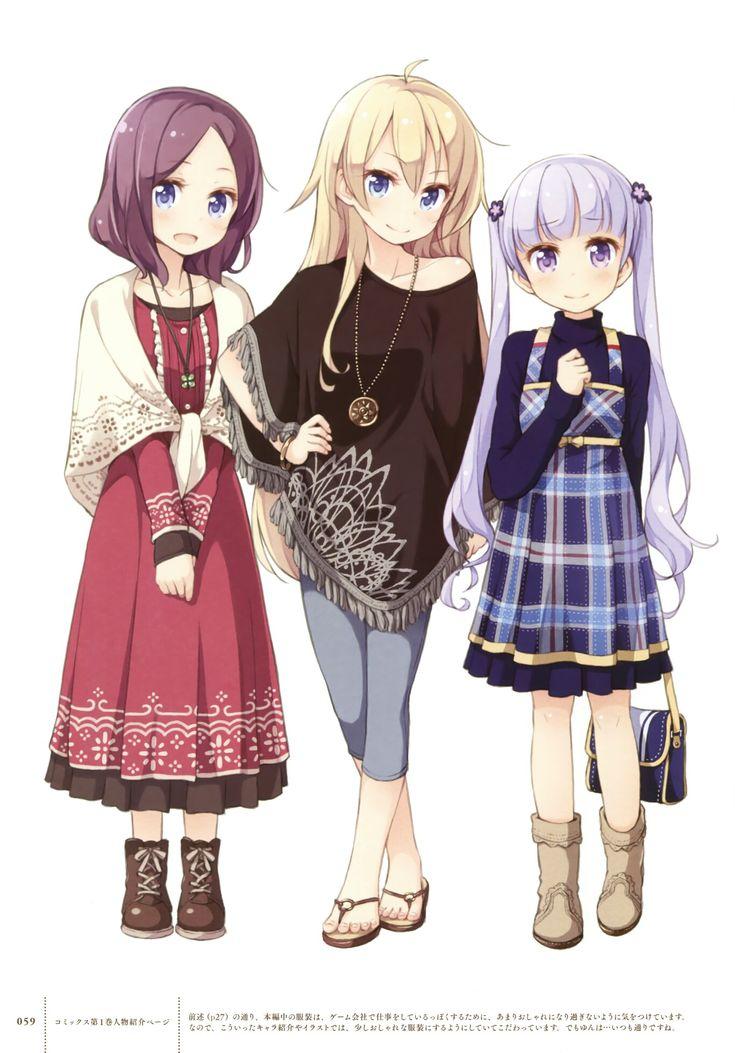 El mejor trio de la serie ️ Anime, Moe anime
