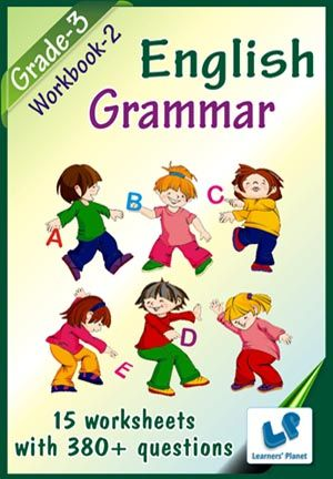 GRADE-3-ENGLISH-GRAMMAR-WORKBOOK-2 This workbook contains printable worksheets on English – Grammar (Simple Present Tenses, Present Continuous Tenses, Simple Past Tenses, Past Continuous Tenses) for Grade-3 students.  There are total 15 worksheets with 380+ questions.   Pattern of questions : Multiple Choice Questions…    PRICE :- RS.149.00