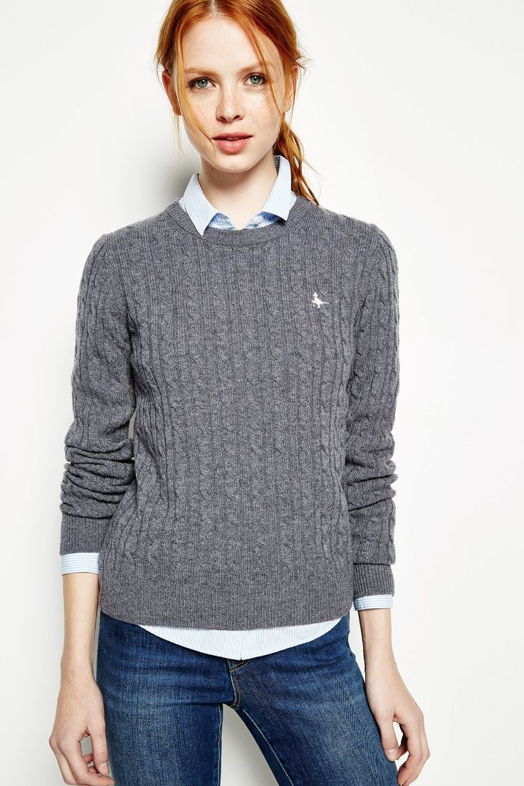 TINSBURY CABLE JUMPER £59.50 från Jack Wills