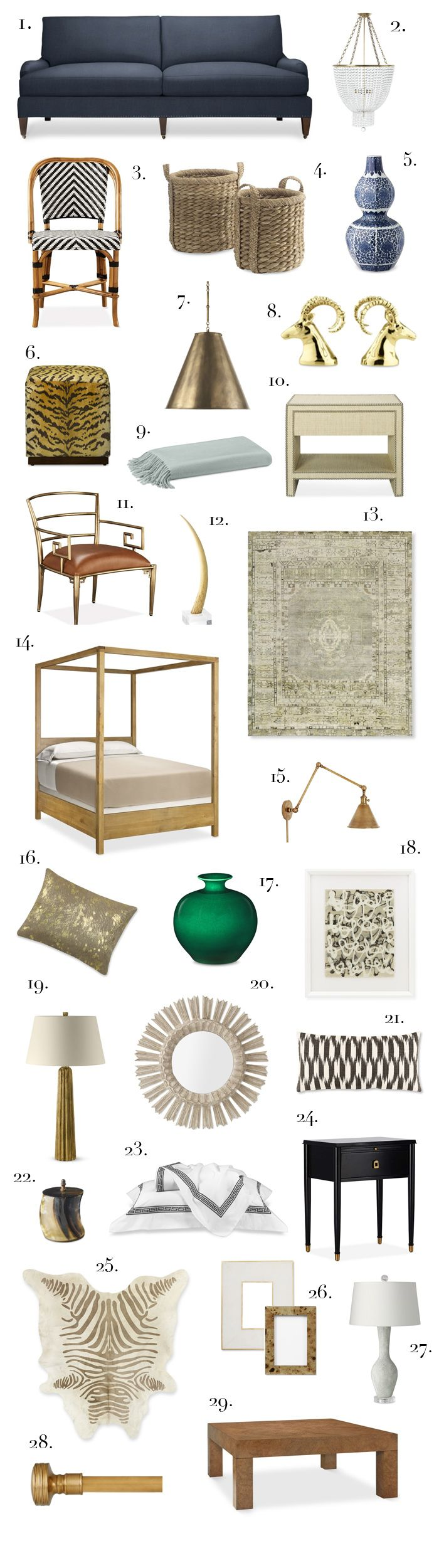 Elements of Style Blog | Timeless Classics from Williams Sonoma Home. | http://www.elementsofstyleblog.com