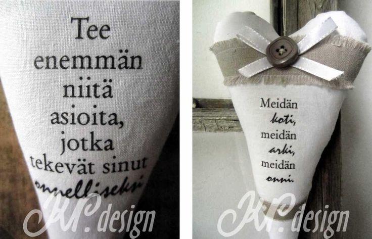 www.kirsinbloki.blogspot.fi: Sisustus-sydämiä ja viisaita sanoja Sinulle!