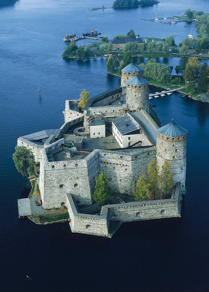 #Olavinlinna #castle #Finland #attraction