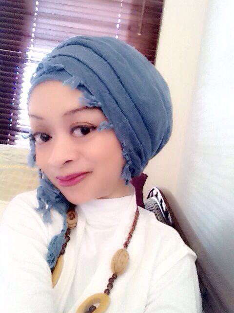 Blue White #Hijab #Fashion #NiekOcta