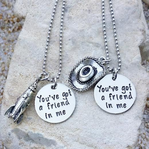 Hand stamped jewelry has become quite popular, and I feel that it makes a truly personal and thoughtful gift. I was in awe over these fascinating Disney inspired creations fromKKandWhimsyon Etsy. They make Necklaces, bracelets and even key chains with Disney quotes ranging from the classicsto new favorites.KKandWhimsy's jewelry arehand stamped and you can see …