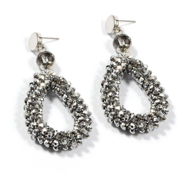 Sehuoran Bohemian Earrings For Women Crystal And Stone Beads By Handmade Zinc Alloy Big Long Earrings Vintage  2017 New Jewelry-in Drop Earrings from Jewelry & Accessories on Aliexpress.com | Alibaba Group