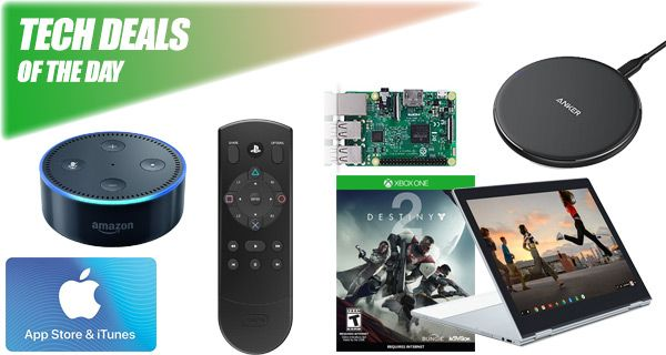 Last Call: $15 PS4 Remote, $23 Destiny 2, iPhone X Wireless Charger, $15 Off iTunes Gift Card, More [Deals]