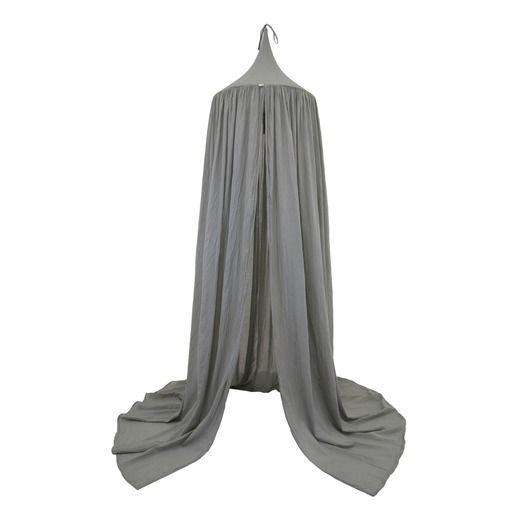 Sänghimmel Silver Grey