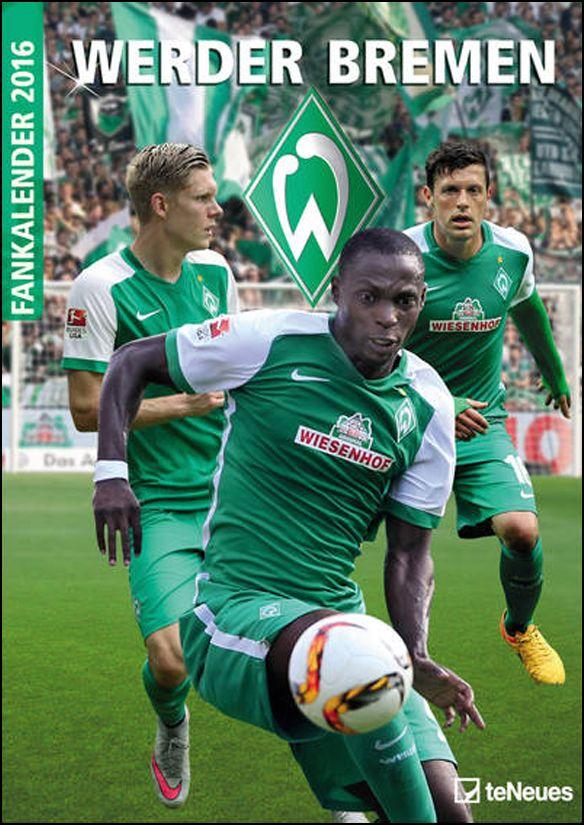 Werder Bremen Wandkalender 2016