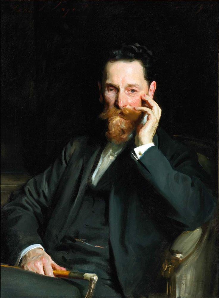 Portrait of Joseph Pulitzer by John Singer Sargent, 1909                                                                                                                                                                                 More