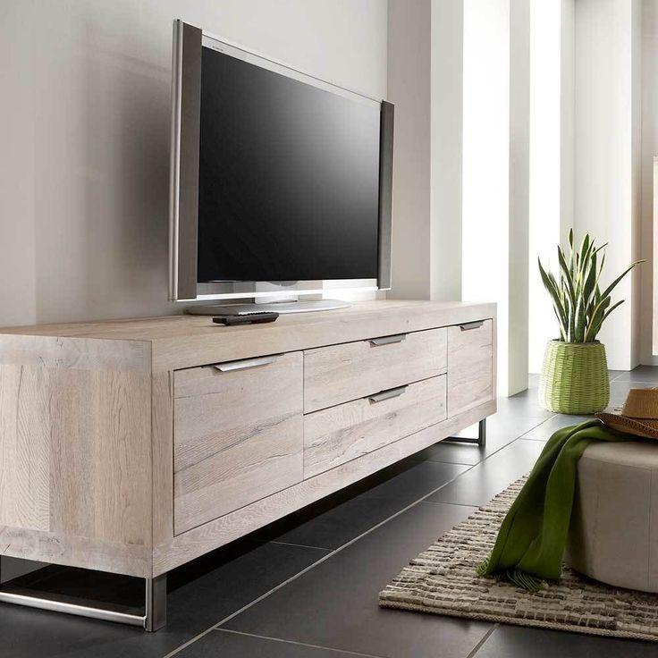 Die besten 25+ Lowboard massiv Ideen auf Pinterest Tv möbel - wohnzimmerschrank eiche massiv