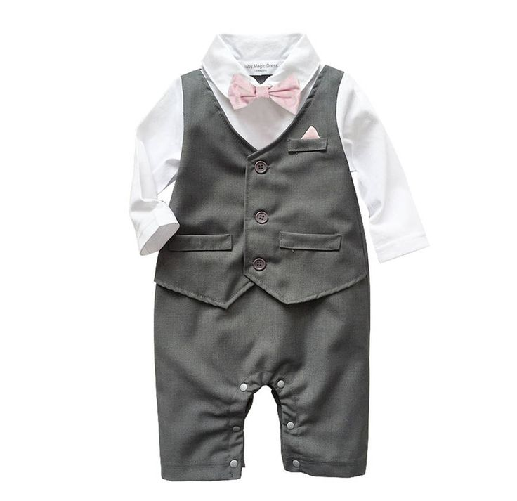 Baby Boy's All In One Outfit Suit