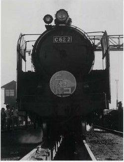 JNR C622 steam loco frontview