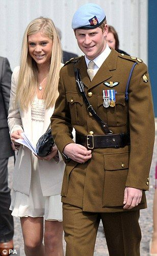 Prince Harry with Chelsy Davy...