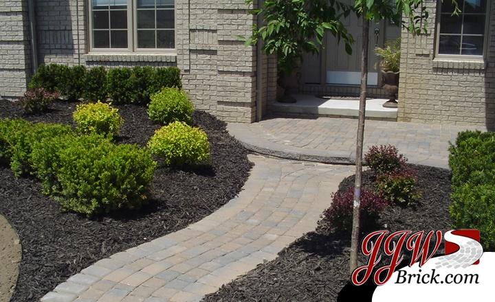 Simple sidewalk landscaping ideas : Ideas yards landscaping add simple front yard bricks