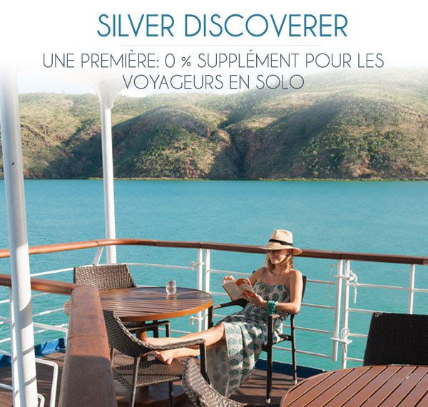 #Croisiere Sans Supplément Individuel ! 0% Single Supplement with #Silversea Expeditions!  #Seagnature #Luxe #Luxury #Cruise