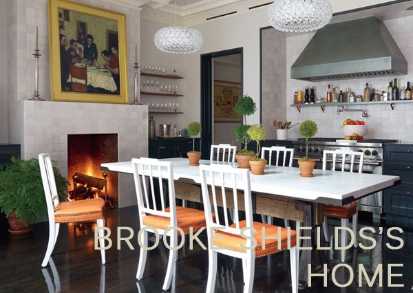 Brooke Shields Home