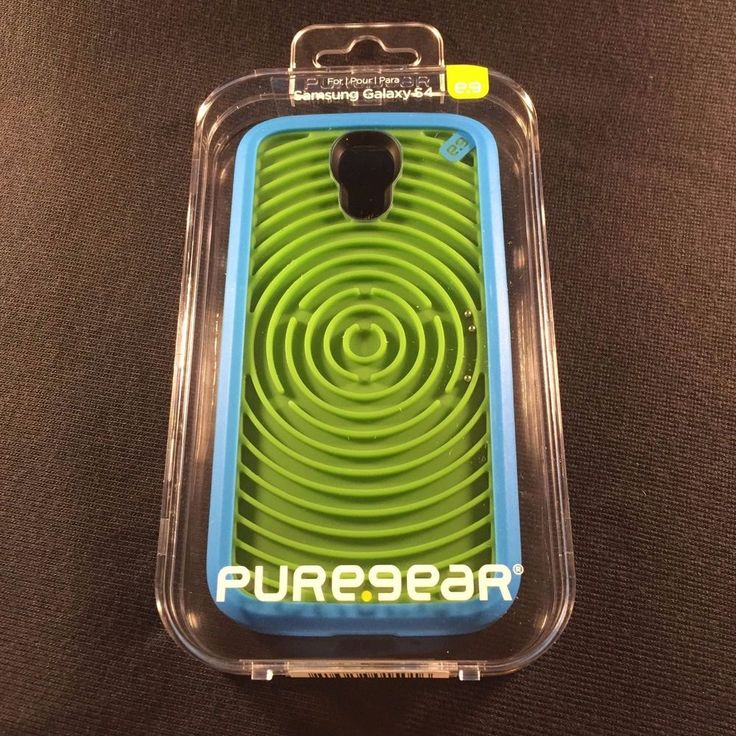 Puregear Samsung Galaxy S4 Retro Game Case - Groovy Blue and Green 60170PG #PureGear