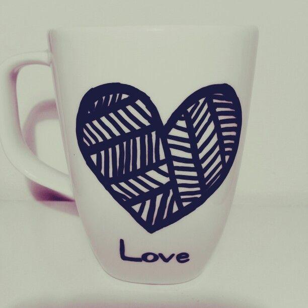 Mug decorating ♡