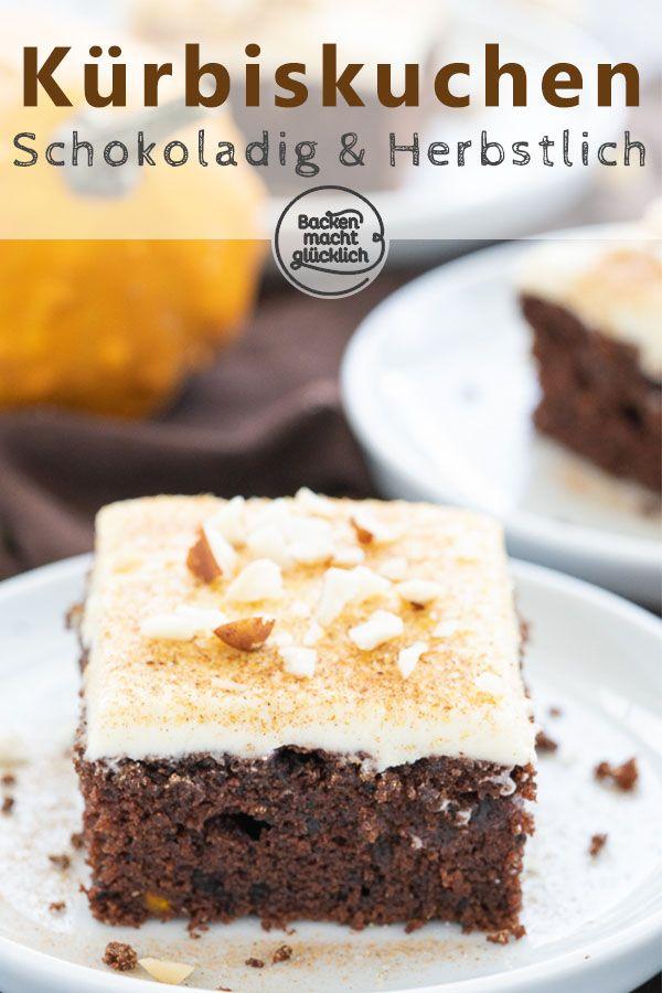 Saftiger Kurbis Schoko Kuchen Backen Macht Glucklich Rezept Schokoladenkuchen Rezept Kuchen Kuchen Ohne Backen