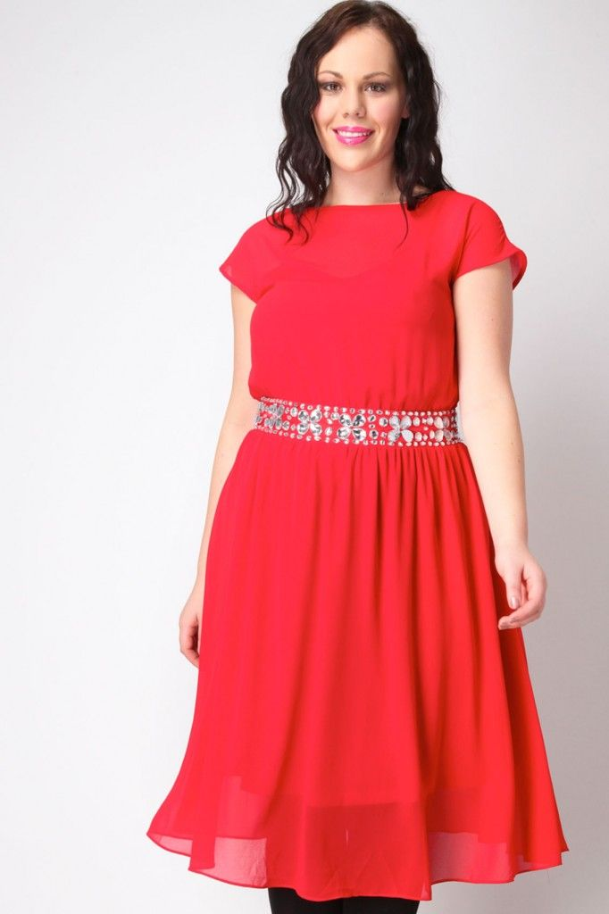cutethickgirls.com plus size red dresses (35) #plussizedresses