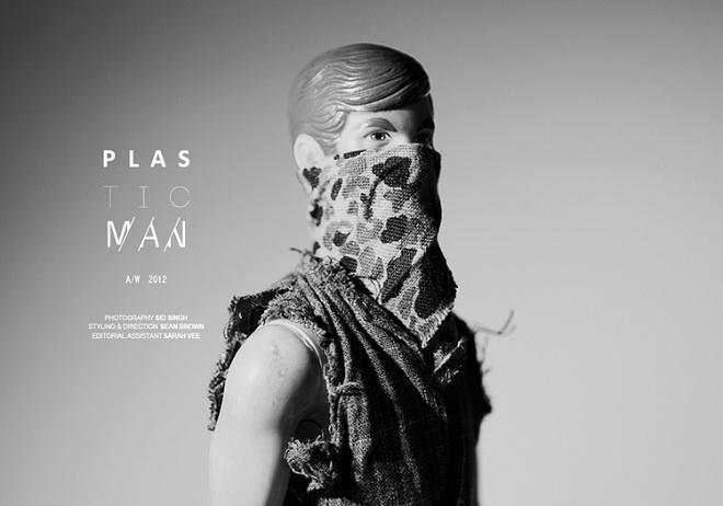 Sean Brown's P L A S T I C M A N project blows our minds.