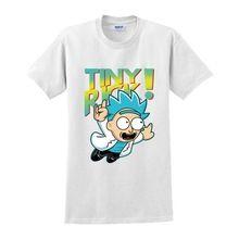 High-Q liefhebbers Gratis Rick en Morty katoenen t-shirt Korte mouw T-shirt tees kuso cartoon Beth Rick Morty losse t-shirt tshirt tee(China (Mainland))