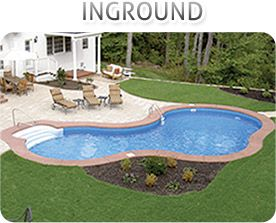 Inground - Inground pools to fit any situation and location.  RadiantPools.com