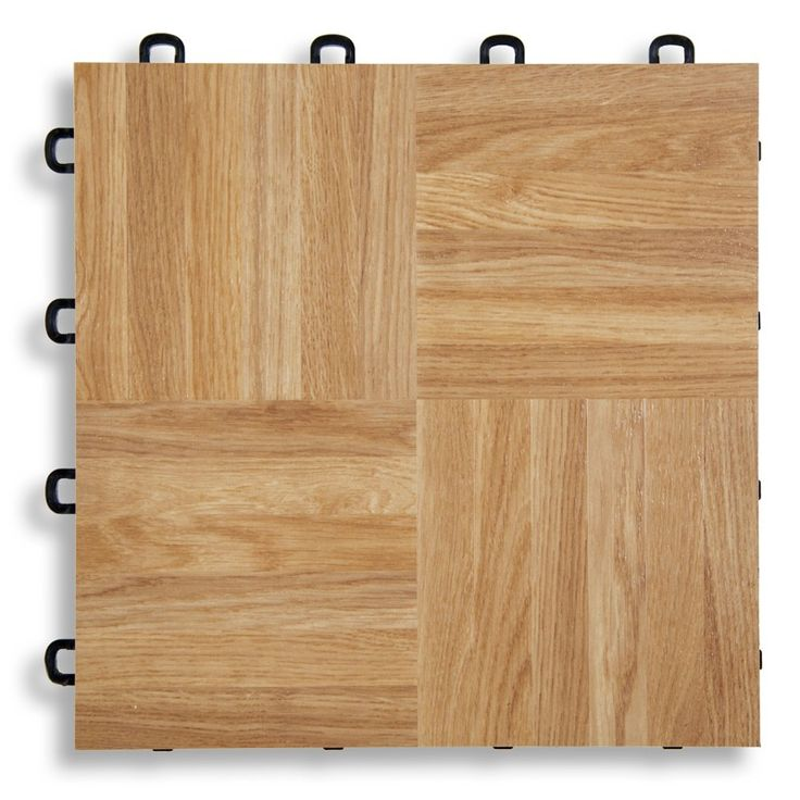 Good Idea For A Basement Interlocking Floor Tiles Natural Oak Vinyl Top Flooring