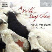 A Wild Sheep Chase is one of Murakami's most fantastical novels. An advertising executive, infatuated with a girl who possesses the most perfect ears (an erotic charge for him) uses a picture of a sheep with a star on its back. This catapults him into a weird adventure to find the mythical sheep up in the wilds of Hokkaido, Japan's northern island. There are strange encounters, a hotel with an extra disappearing floor, and other oddities.