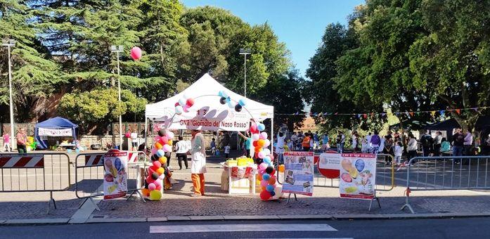 Tempio+Pausania,+13^+Giornata+Nazionale+del+Naso+Rosso,+una+festa+per+bambini+al+Parco+delle+Rimembranze+con+V.I.P.+Sardegna.