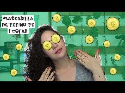 PROBANDO MASCARILLA DE PEPINO DE 1 DOLAR - Easywithlu