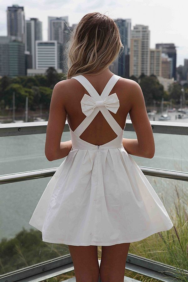 Open back with BOW!!