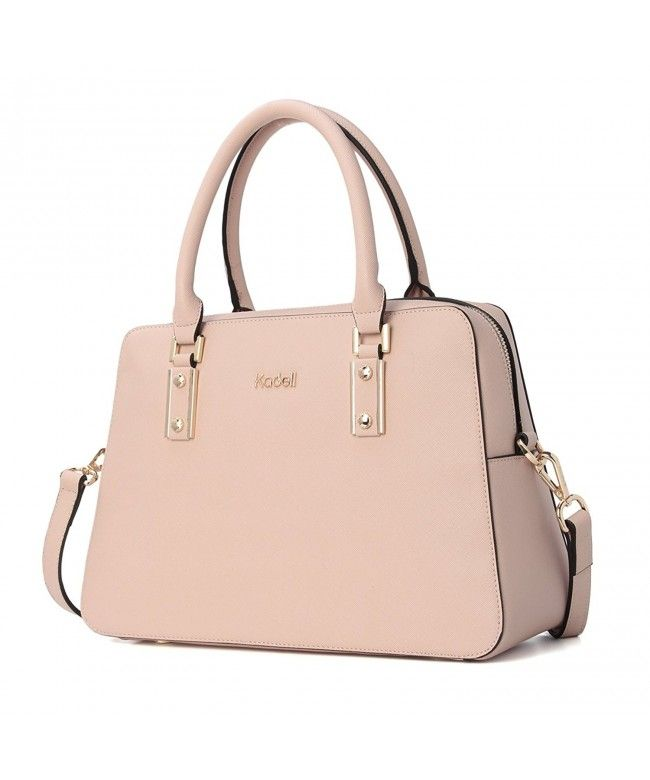 2d1e3a66fdf6 Women Vintage PU Leather Handbags Tote Satchel Shoulder Bag Top Handle Purse  - Beige - C4183WH2SCC  Bags  Handbags  Satchelbags  gifts  Style