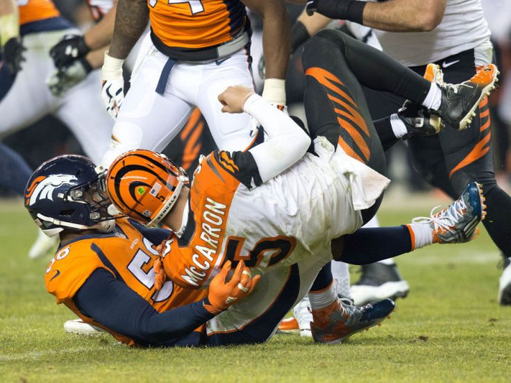 A.J. McCarron to have MRI on his wrist = Bengals quarterback A.J. McCarron missed a shotgun snap to end last night's Monday Night Football game against the Denver Broncos. With Denver already up by three, DeMarcus Ware.....