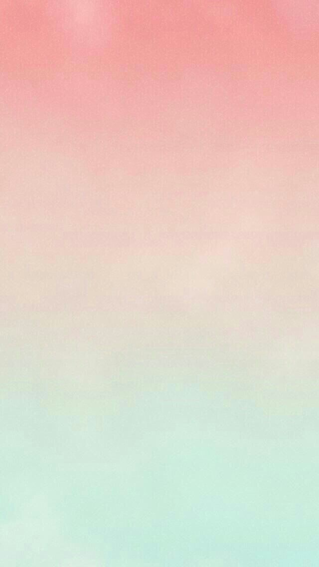 Another great wallpaper! A pink-peach-blue ombré. It's girly yet not too fluffy and dreamy, and really refreshing to look at.