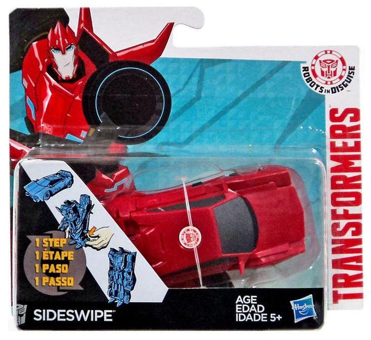 Transformers Robots In Disguise Hyper Change Heroes Sideswipe