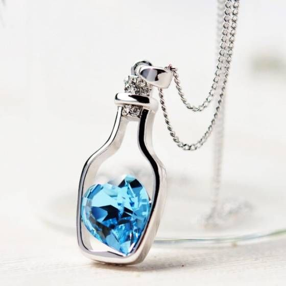 Shopo.in : Buy Cute Heart Necklace online at best price in New Delhi, India