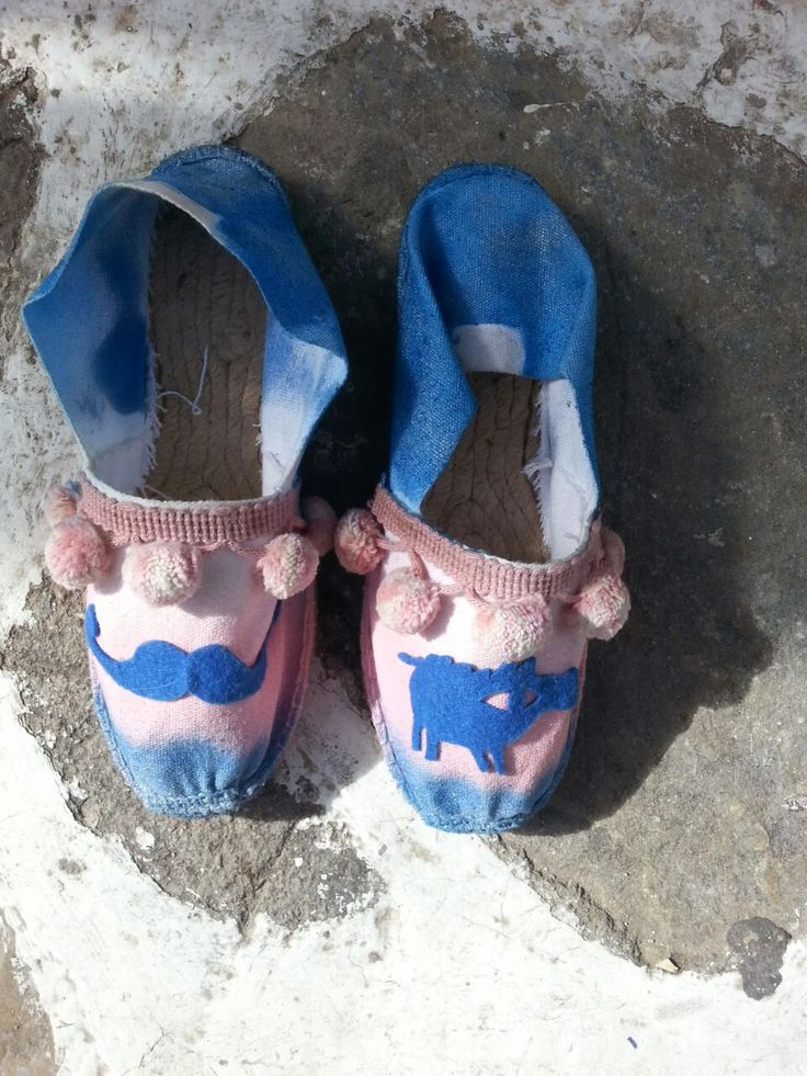 customized espadrilles
