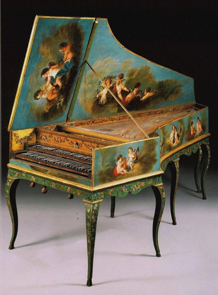 357 best images about Harpsichords on Pinterest | Baroque ...