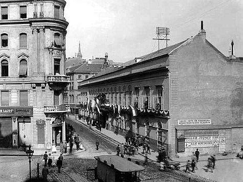 Itt fogták el gróf Batthyány Lajost 1848. január 8.-án