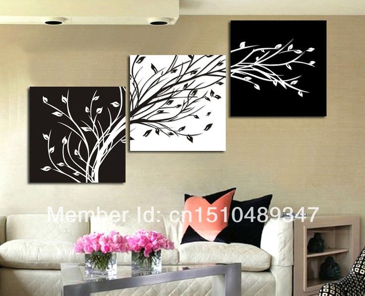 Wall Art At House Of Fraser : Cuadros al oleo abstractos en blanco y negro buscar con