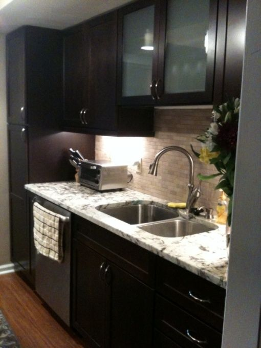 17 best images about small galley kitchen ideas on for Small galley kitchen remodel