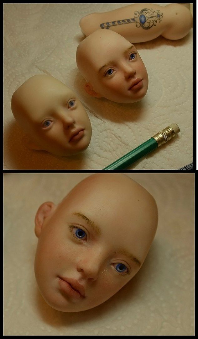 Шарнирные куклы Ольги Фиминой